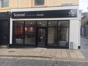 Dunfermline office front